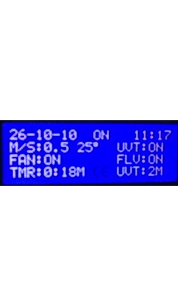 LAMINAR VERTICAL MICRO CONTROLLER LCD DISPLAY