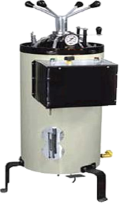 AUTOCLAVE VERTICAL STANDARD MODEL