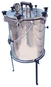 AUTOCLAVE PORTABLE SINGLE n DOUBLE WALLED